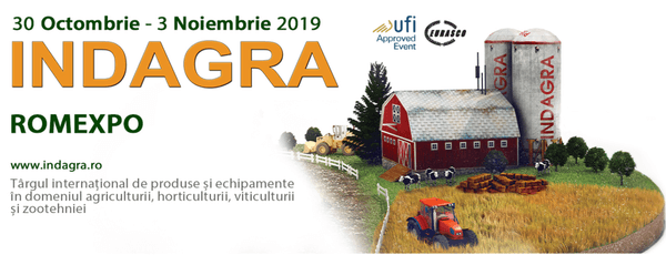 ΣΥΜΜΕΤΟΧΗ ΣΤΗΝ INDAGRA FOOD ROUMANIA 2019, HALL B2 stand 6d