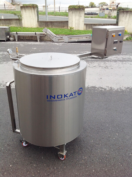 Photo 250lt JAR PASTEURIZER WITH IMMERSION BASKET