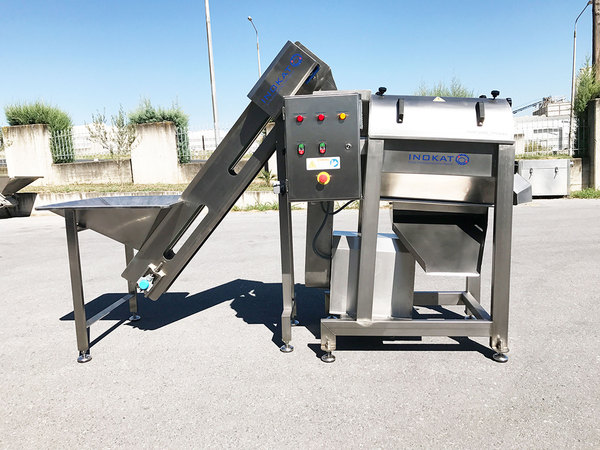 PULP MACHINE FOR PRODUCT PASTE-PULP, MODEL RAF300
