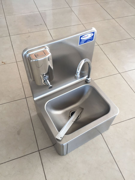 MEDICAL TYPE WALL MOUNTED SINK UNIT